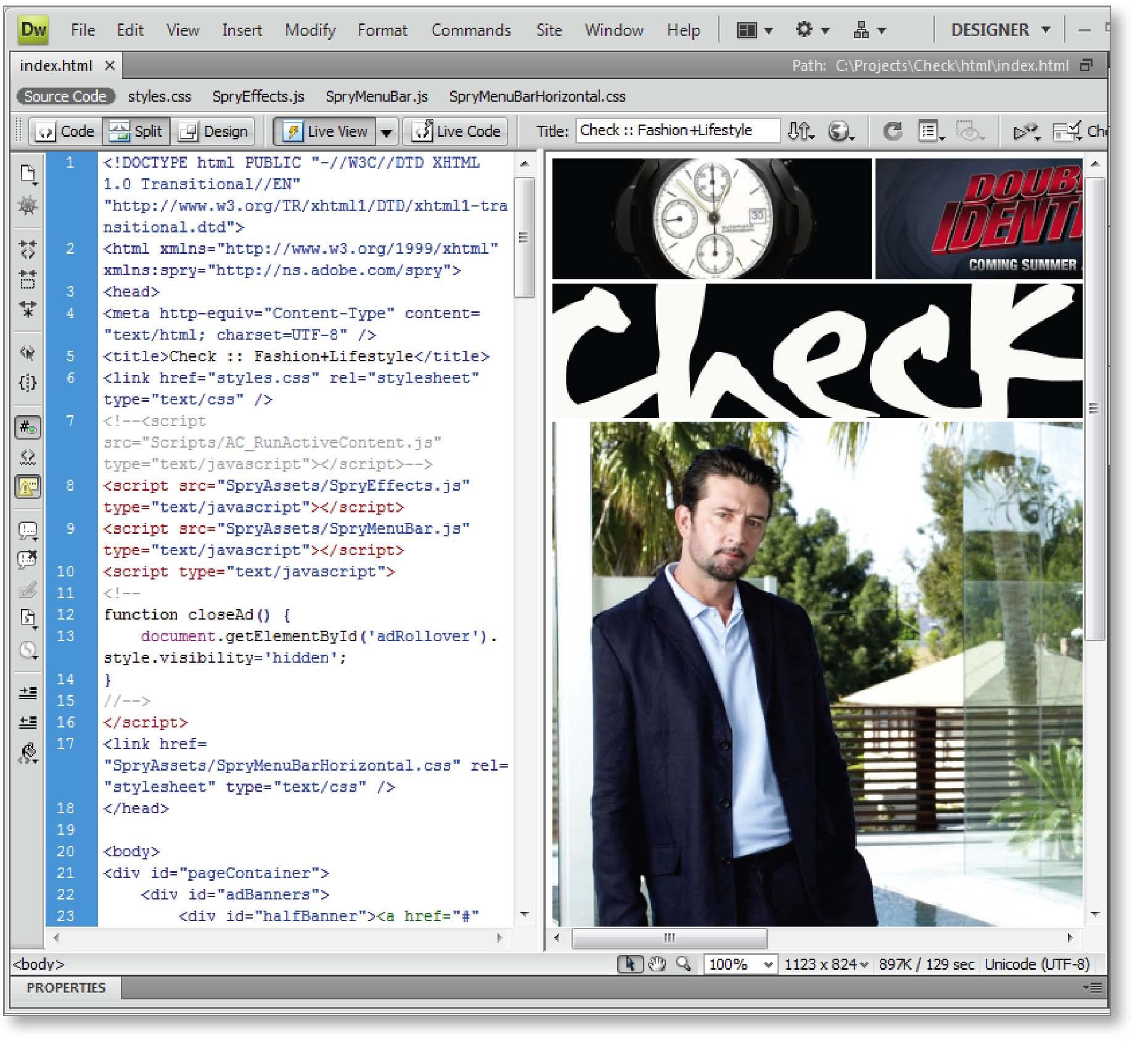 Adobe Dreamweaver CS4 for Mac (1 cd)
